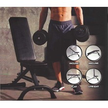 IRON GYM ™ IRON BENCH™Banca Reglabila